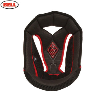 Bell Moto 9 Top Pad Liner Black in Black