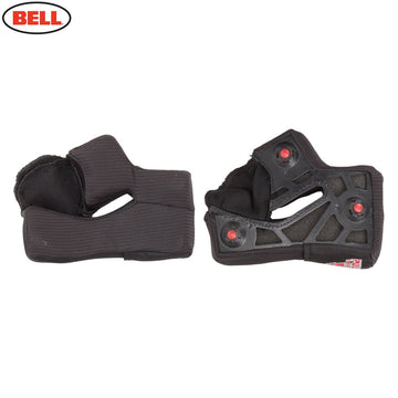 Bell NEW Star X-Static Cheek Pads in Black