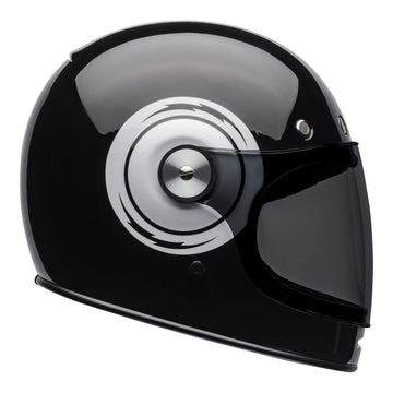 Bell 2020 Cruiser Bullitt Adult Helmet in Bolt Black / White