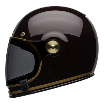 Bell 2020 Cruiser Bullitt Carbon Adult Helmet in Transend Candy Red / Gold