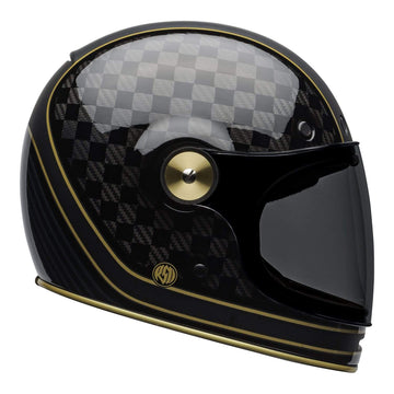 Bell 2020 Cruiser Bullitt Carbon in RSD Check It Helmet M / G Black