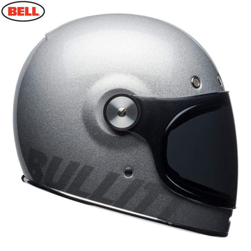 Bell 2020 Cruiser Bullitt DLX Adult Helmet in Gloss Silver Flake