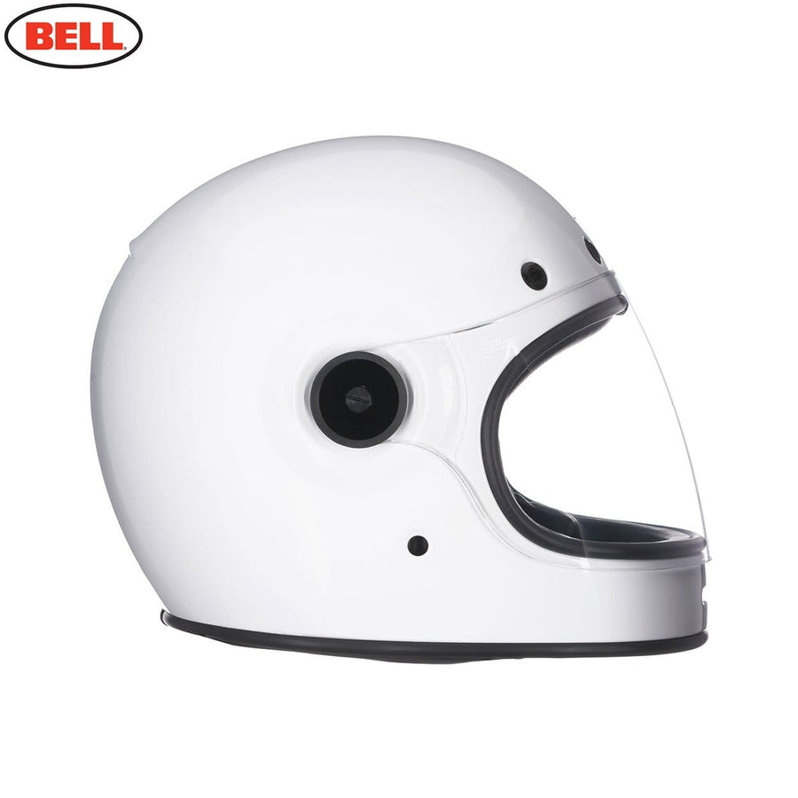 Bell 2020 Cruiser Bullitt DLX Adult Helmet in Gloss White