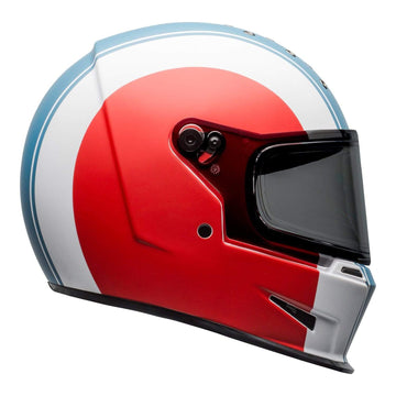 Bell 2020 Cruiser Eliminator Adult Helmet in Slayer White / Red / Blue