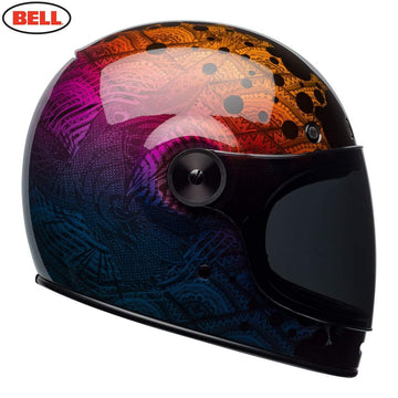 Bell Cruiser 2018 Bullitt SE Adult Helmet in Hart Luck Metallic Bubbles