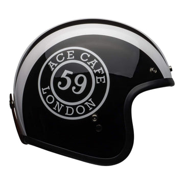 Bell Cruiser 2020.1 Custom 500 DLX Adult Helmet in Ace Café 59 Black White