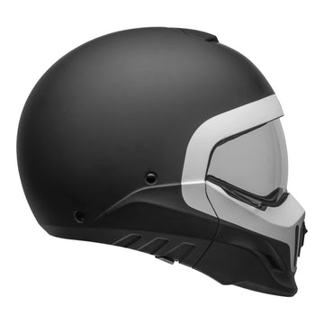 Bell Cruiser 2020 Broozer Adult Helmet in Cranium Matte Black / White