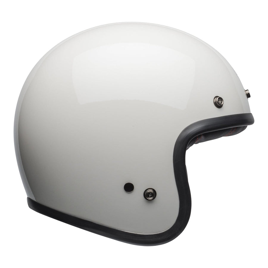Bell Cruiser 2020 Custom 500 DLX Adult Helmet in Solid Vintage White