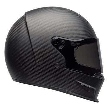 Bell Cruiser 2020 Eliminator Carbon Adult Helmet in Solid Matte Black