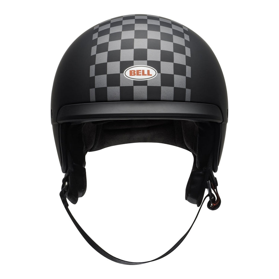Bell Crusier 2020 Scout Air Adult Helmet in Check Matte Black / White