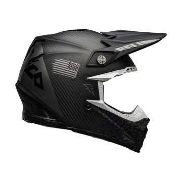 Bell MX 2020.1 Moto-9 Flex Adult Helmet in Slayco M / G Black / Grey