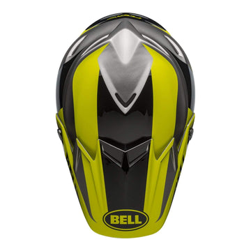 Bell MX 2020 Moto-9 Flex Adult Helmet in Division M / G Black / Hi Viz / Gray