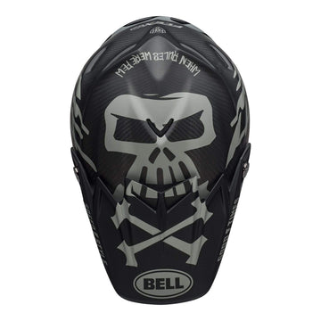 Bell MX 2020 Moto-9 Flex Adult Helmet in FastHouse WRWF M / G Black / White / Gray