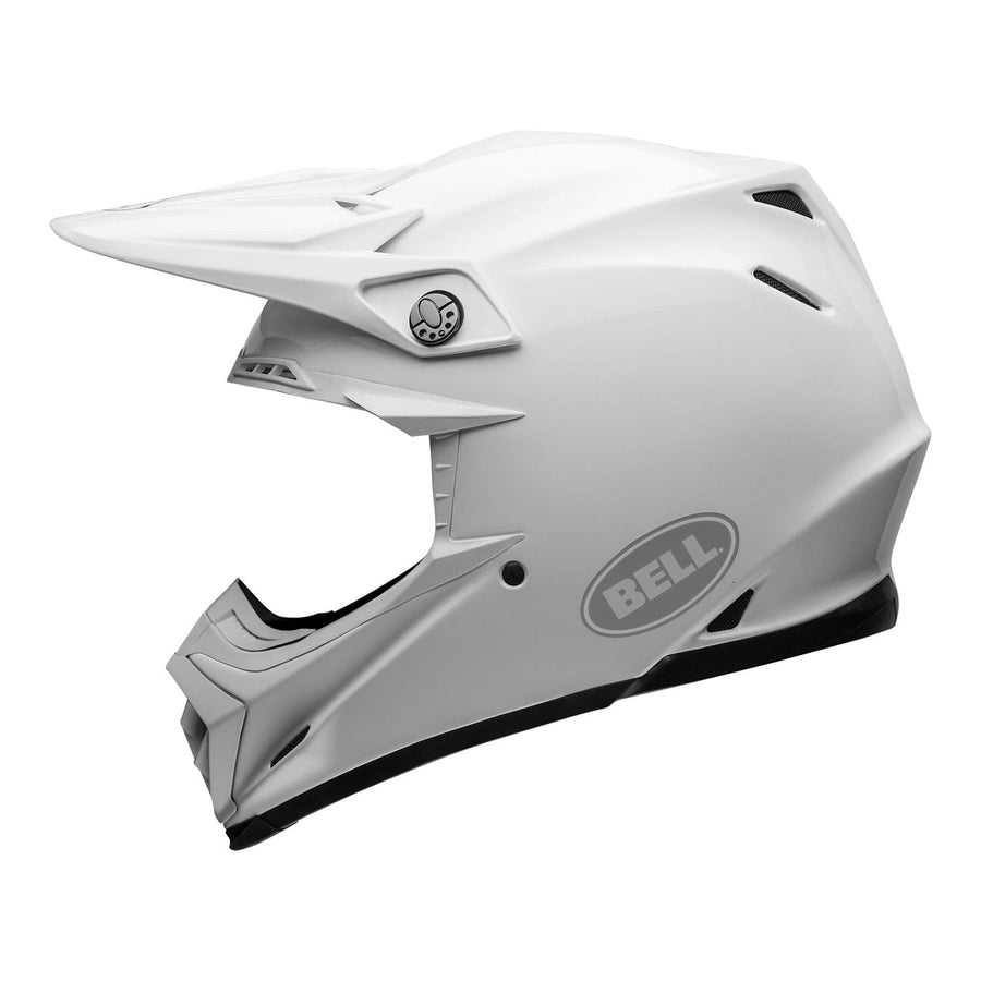Bell MX 2020 Moto-9 Flex Adult Helmet in Gloss White