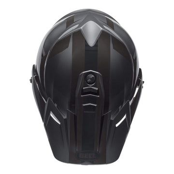 Bell MX 2020 MX-9 Adventure Mips Adult Helmet in Blackout Matte / Gloss Black