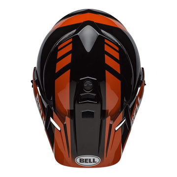 Bell MX 2020 MX-9 Adventure Mips Adult Helmet in Dash Black / Red / White