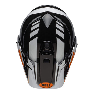 Bell MX 2020 MX-9 Adventure Mips Adult Helmet in Dash Black / White / Orange