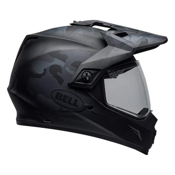 Bell MX 2020 MX-9 Adventure Mips Adult Helmet in Stealth Matte Black Camo
