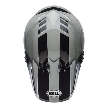 Bell MX 2020 MX-9 Mips Adult Helmet in Dash Gray / Black / White