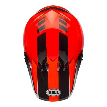 Bell MX 2020 MX-9 Mips Adult Helmet in Dash Orange / Black