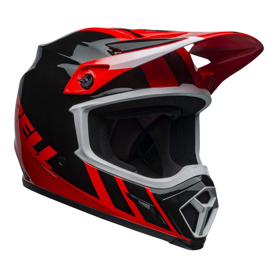 Bell MX 2020 MX-9 Mips Adult Helmet in Dash Red / Black