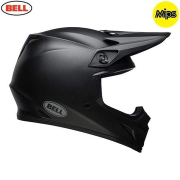 Bell MX 2020 MX-9 Mips Adult Helmet in Matte Black