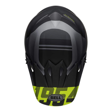 Bell MX 2020 MX-9 Mips Adult Helmet in Strike Matte Grey / Black / Hi Viz