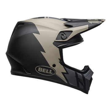 Bell MX 2020 MX-9 Mips Adult Helmet in Strike Matte Khaki / Black