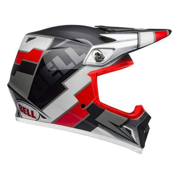 Bell MX 2020 MX-9 Mips Adult Helmet in Twitch Replica Matte Black / Red / White