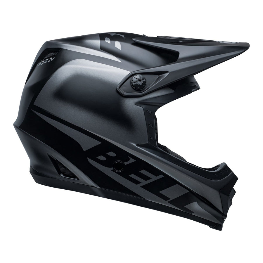 Bell MX 2020 Youth Moto-9 MIPS Helmet in Glory Matte Black