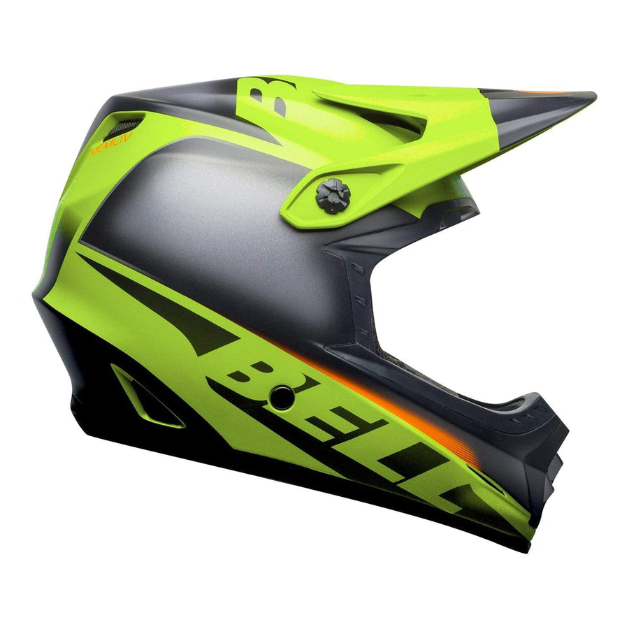 Bell MX 2020 Youth Moto-9 MIPS Helmet in Glory Matte Green / Black / Infrared