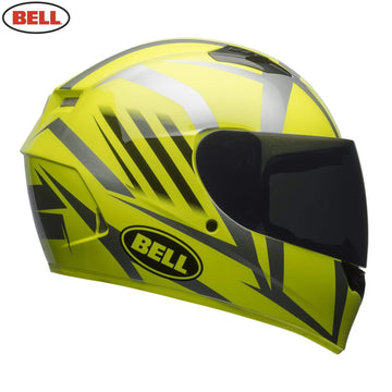 Bell Street 2018 Qualifier STD Adult Helmet Helmet in Blaze Hi-Viz Yellow