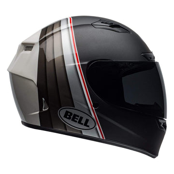 Bell Street 2019 Qualifier DLX Mips Adult Helmet in Illusion Black / Silver / White