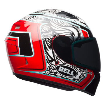 Bell Street 2019 Qualifier STD Adult Helmet in Tagger Splice