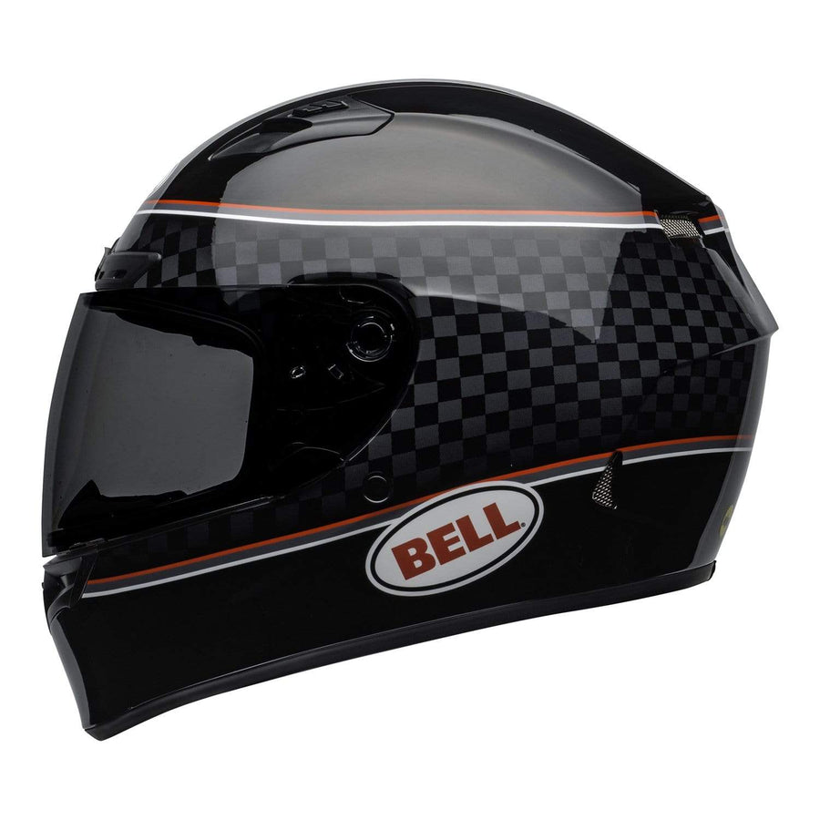 Bell Street 2020 Qualifier DLX MIPS Adult Helmet in Breadwinner Black / White