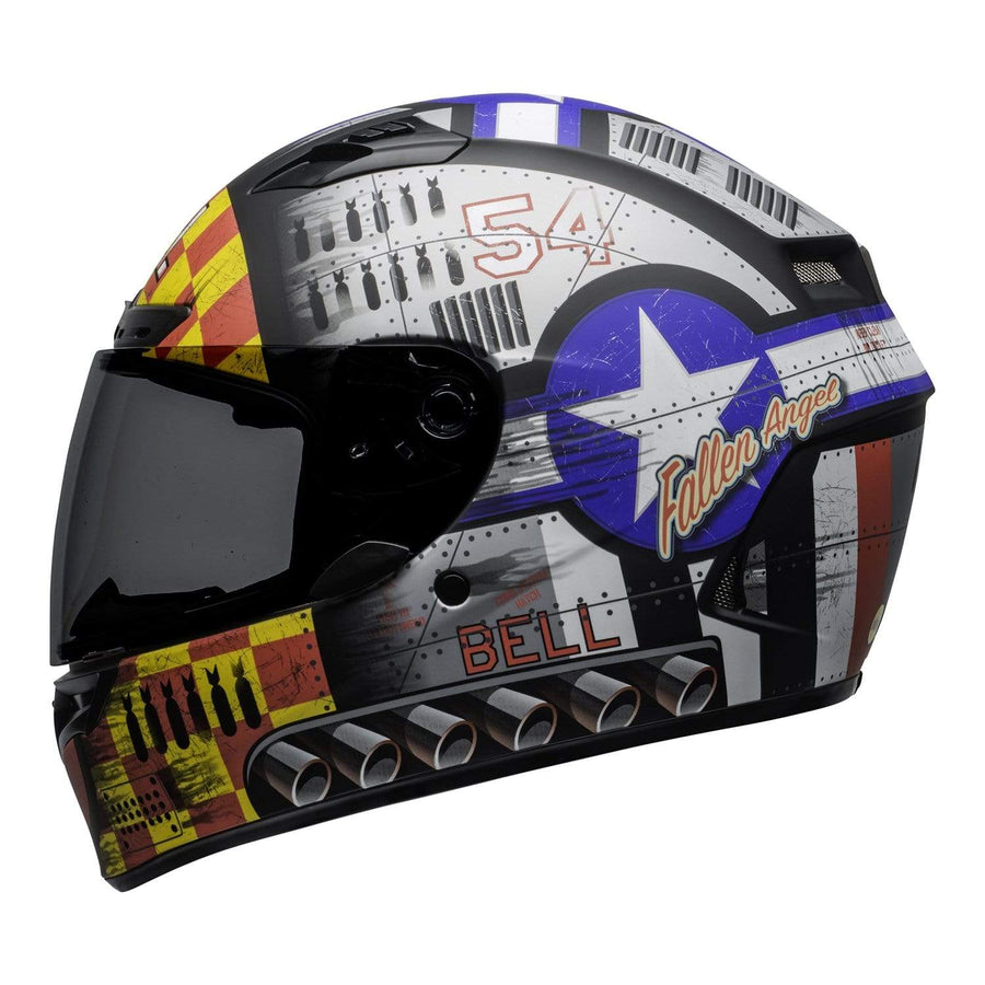 Bell Street 2020 Qualifier DLX MIPS Adult Helmet in Devil May Care Grey