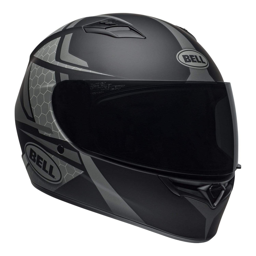 Bell Street 2020 Qualifier STD Adult Helmet Helmet in Flare Matte Black / Gray
