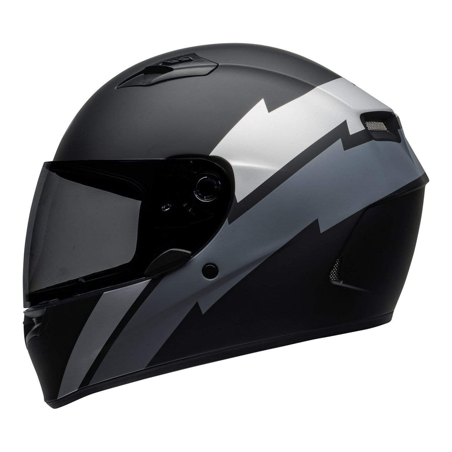 Bell Street 2020 Qualifier STD Adult Helmet Helmet in Raid Matte Black / Gray