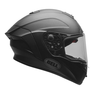 Bell Street 2020 Race Star DLX Adult Helmet in Solid Matte Black