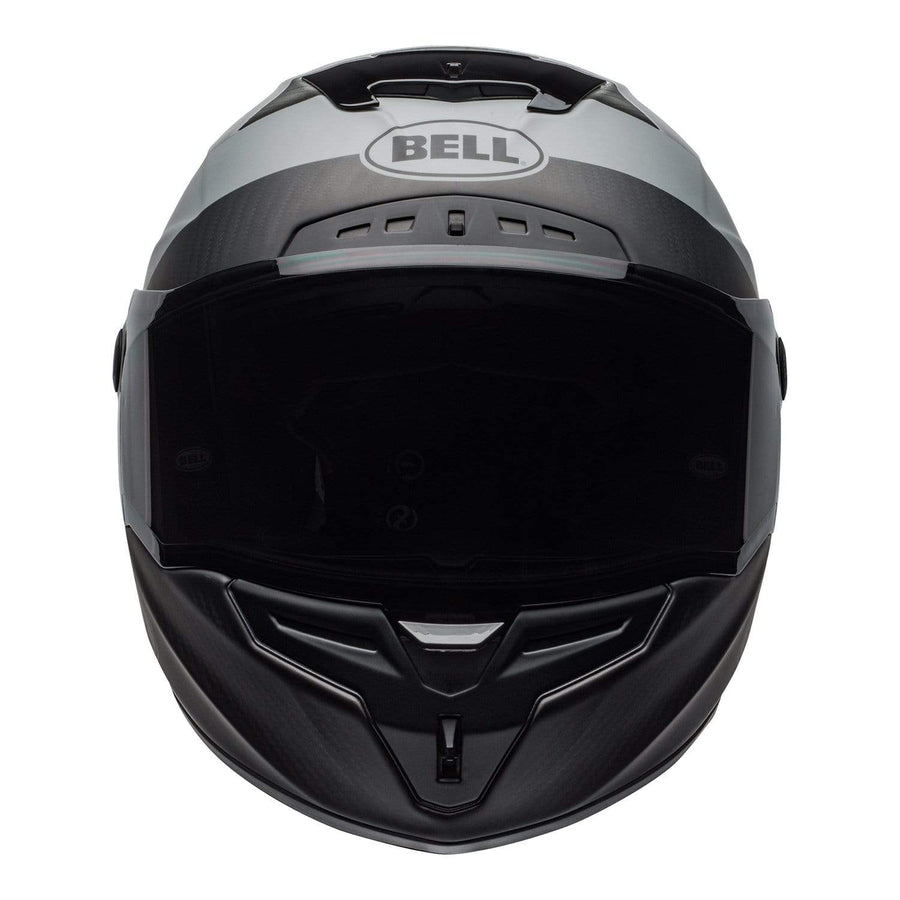 Bell Street 2020 Race Star DLX Adult Helmet in Surge M / G Brushed Metal / Grey