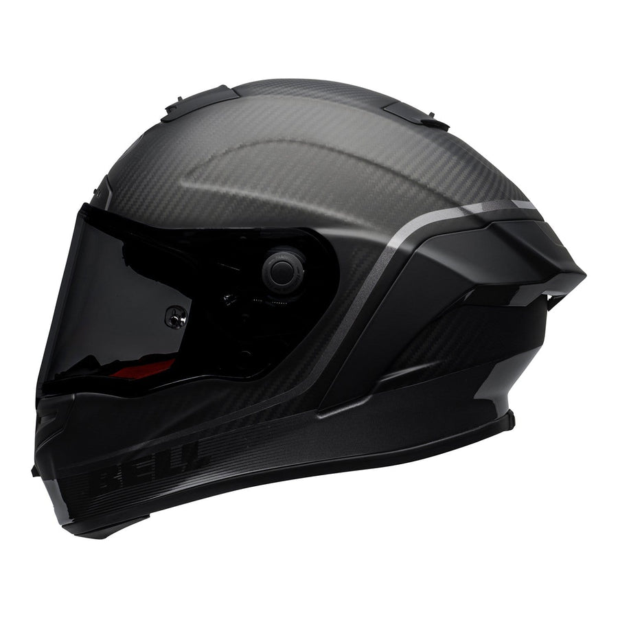 Bell Street 2020 Race Star DLX Adult Helmet in Velocity M / G Black