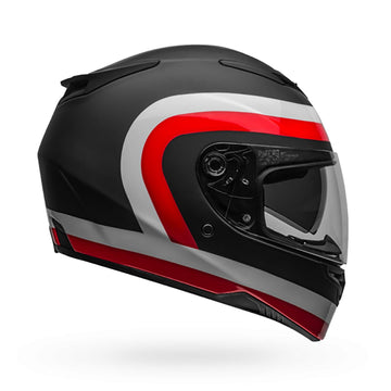 Bell Street 2020 RS2 Adult Helmet in Crave Black / White / Red