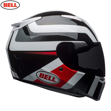 Bell Street 2020 RS2 Adult Helmet in Empire White / Black / Red
