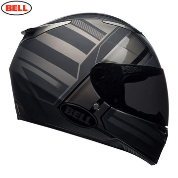 Bell Street 2020 RS2 Adult Helmet in Tactical Matte Black / Titanium