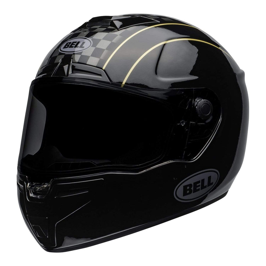 Bell Street 2020 SRT Adult Helmet in Buster Black / Yellow / Gray