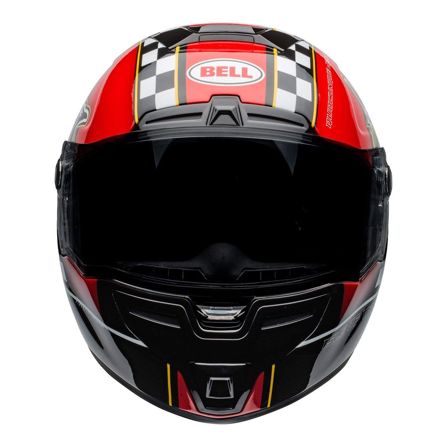 Bell Street 2020 SRT Adult Helmet in IOM Black / Red
