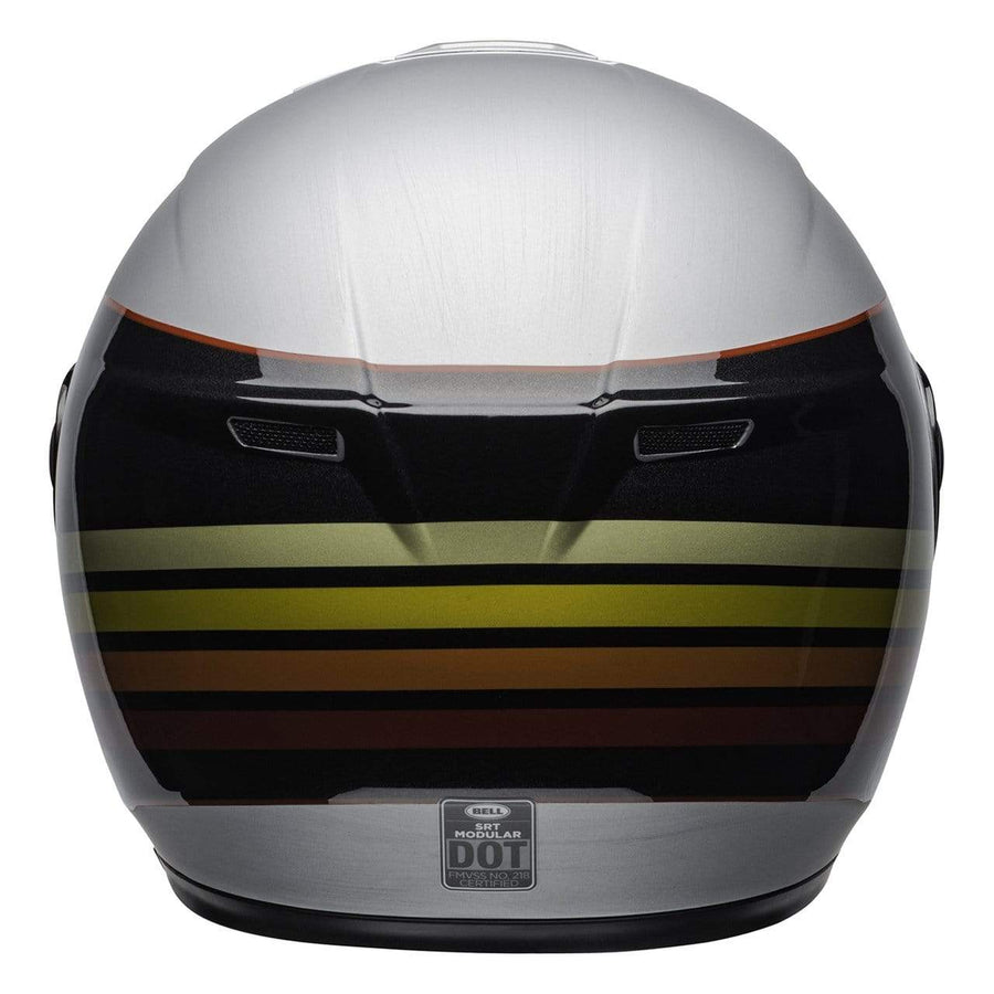 Bell Street 2020 SRT Modular Adult Helmet in Newport Metal / Red