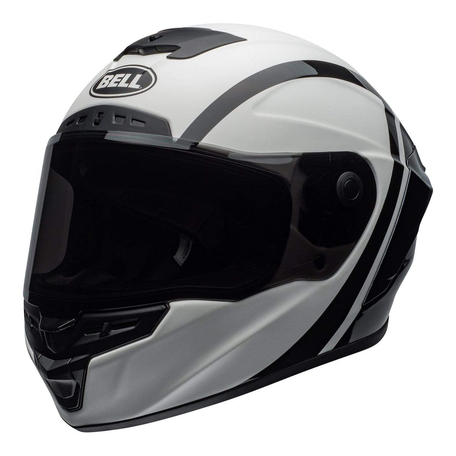 Bell Street 2020 Star DLX MIPS Adult Helmet in Tantrum M / G White / Black / Titanium