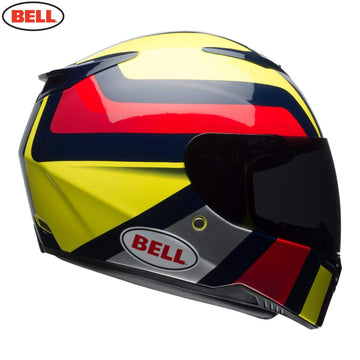 Bell Street 2018 RS2 Adult Helmet in Empire Yellow / Navy / Red