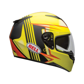 Bell Street 2020 RS-2 Adult Helmet in Swift Matte Hi-Viz / Orange / Black